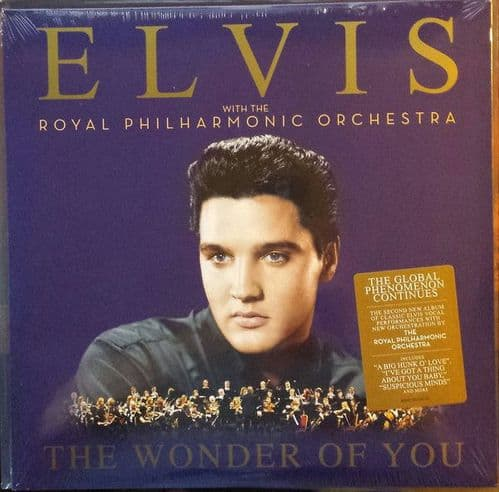 Elvis Presley With The Royal Philharmonic Orchestra<br>The Wonder Of You<br>2LP